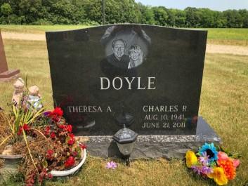 Personalized Granite Headstone